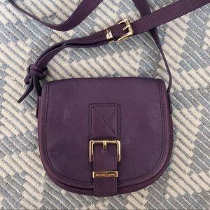 Michael Kors purple small crossbody bag